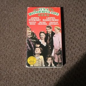 Other - It's a Wonderful Life VHS